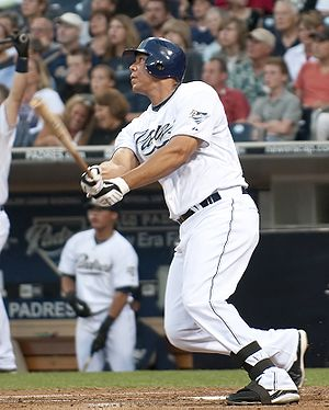 Kyle Blanks - Blanks hitting his 6th career home run