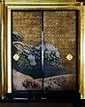 Kyoto Nishi Hongan-ji Gründerhalle Innen Schiebetüren 5.jpg