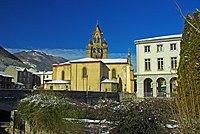 L'église St-Étienne de Seix (Ariège) côté est..jpg
