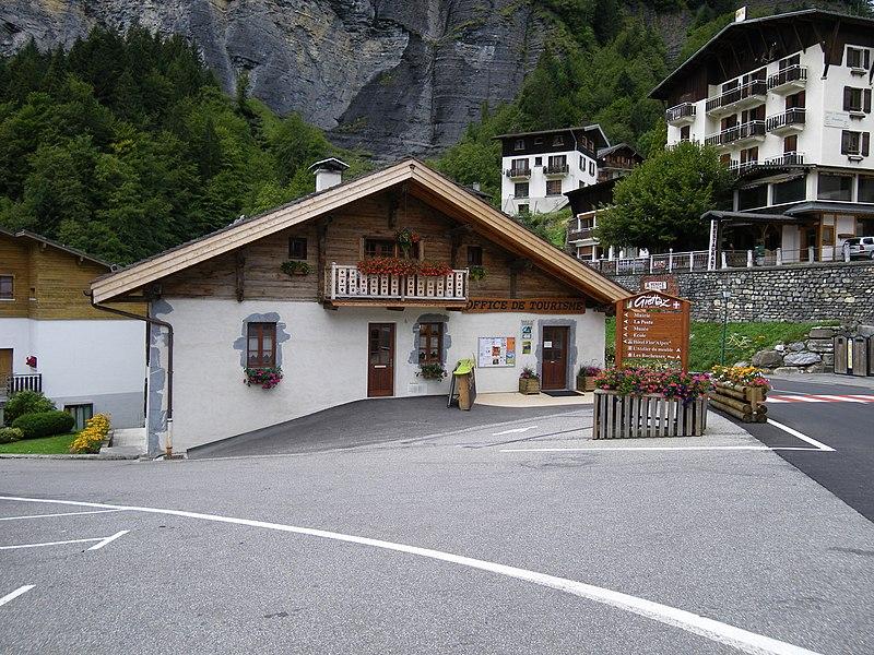 L'office du tourisme de la giettaz