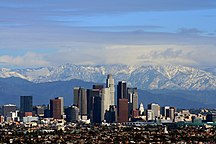 California-Evoluzione demografica-LA San Gabriel Mountains