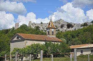 La Baume-Cornillane - The church of La Baume-Cornillane