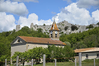 La Baume-Cornillane - The church of La Baume-Cornillane