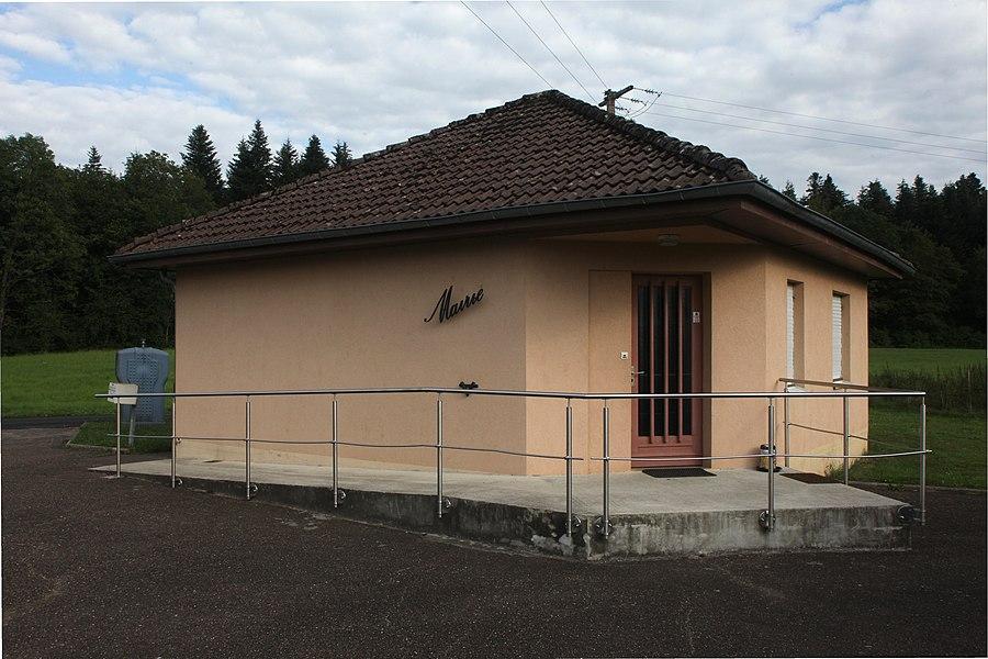 Mairie de La Chevillotte (Doubs).
