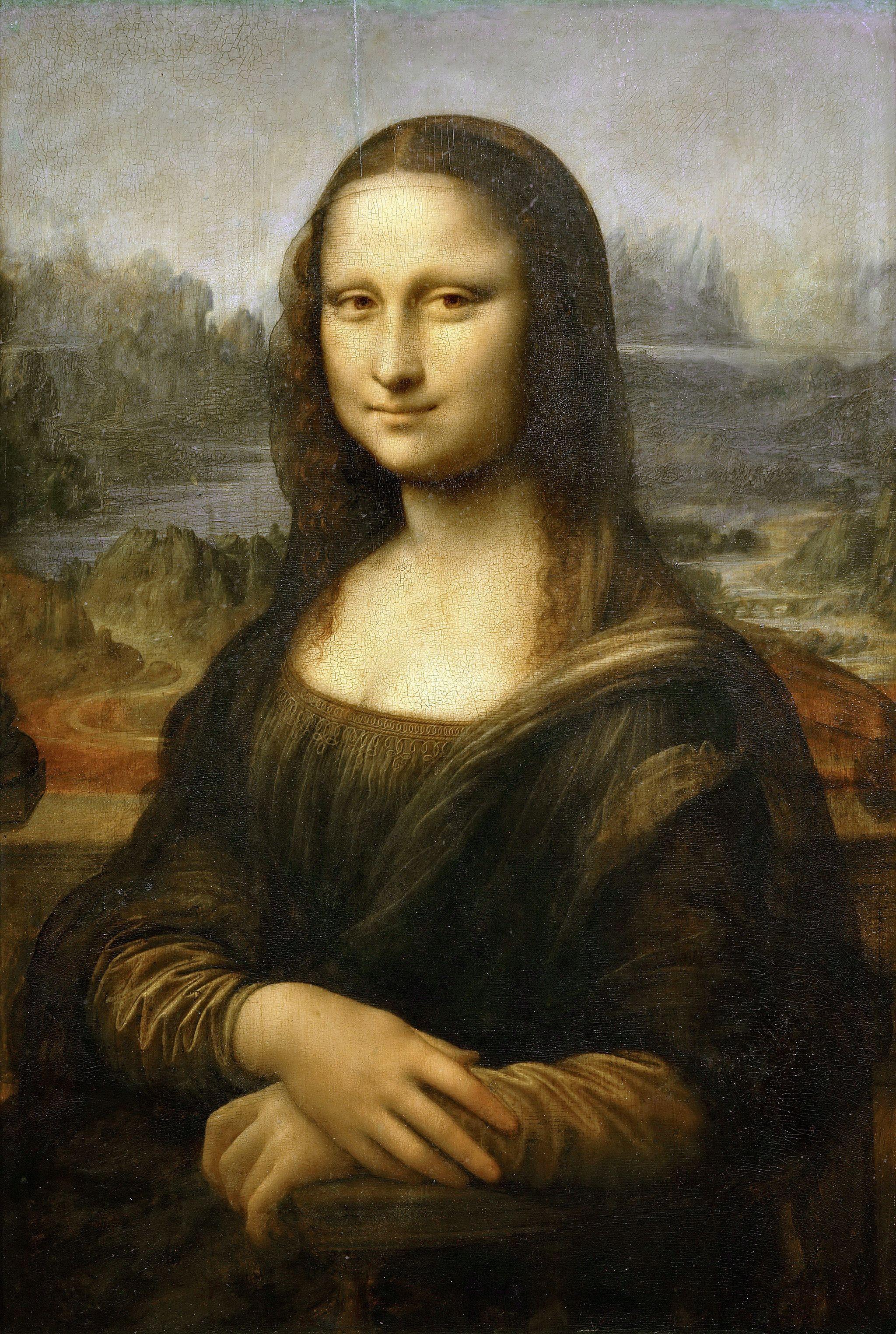 Leonardo da Vinci, Mona Lisa, La Gioconda