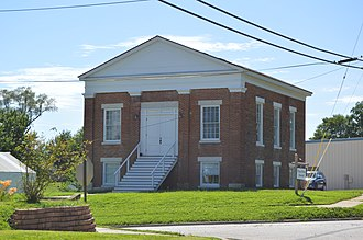 National Register of Historic Places listings in Lewis County, Missouri - Image: La Grange First Presbyterian Church