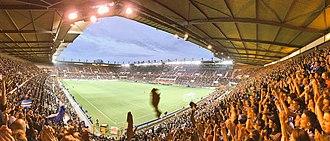 Stade de la Meinau - View of La Meinau
