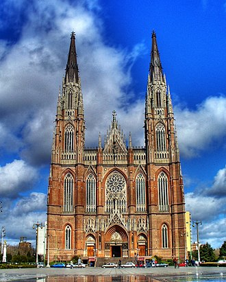 Roman Catholic Archdiocese of La Plata in Argentina - Cathedral of the Immaculate Conception