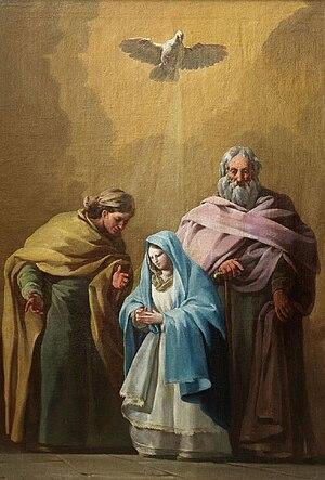 دعای محبت پدر به فرزند عمران (پدر مریم) - ویکیپدیا، دانشنامهٔ آزاد