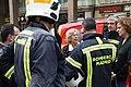 La alcaldesa acude al edificio derrumbado en Chamberí para ver la labor de rescate de las víctimas 02.jpg