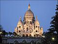 La basilique du Sacré-Coeur au crépuscule (Paris) (4147593805).jpg
