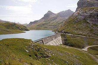 Lac de Sanetsch - Image: Lac de retenu du Sanetsch (3)