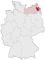 Lage des Landkreises Ostvorpommern in Deutschland.png