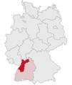 Lage des Regierungsbezirkes Karlsruhe in Deutschland.png