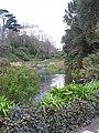 Lake and bridge in Trebah gardens - geograph.org.uk - 746647.jpg