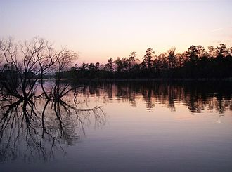 Lake Murray (South Carolina) - Western side