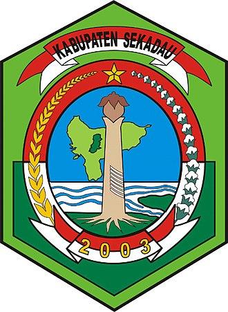 Sekadau Regency - Image: Lambang Kabupaten Sekadau