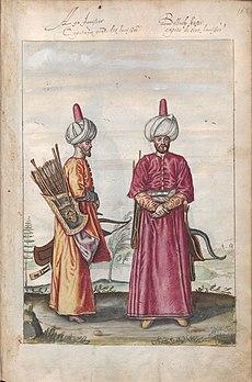 Lambert Wyts - Agha des janissaires et un Bölük des janissaires.jpg