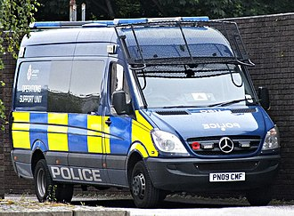 Lancashire Constabulary - Mercedes Sprinter Van