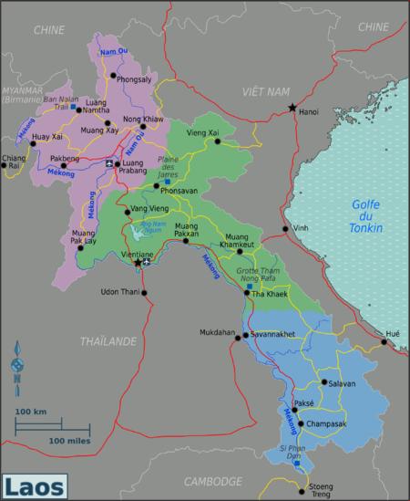 Carte Du Monde Laos.Laos Wikivoyage Le Guide De Voyage Et De Tourisme Collaboratif