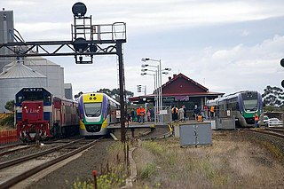 Lara railway station railway station in Lara, Victoria, Australia
