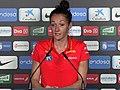 Las selecciones de baloncesto femenino de España, Gran Bretaña y Suecia en el Fernando Martín 03.jpg