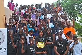 Launching Wikimedia Fan Club UNILORIN 04.jpg