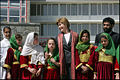 Laura Bush with Afghan girls in 2005.jpg