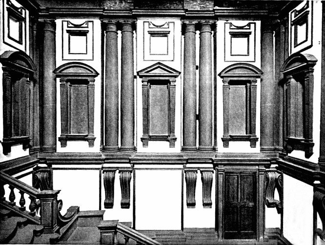 Laurentian Library vestibule