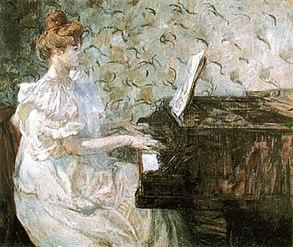 Henri de Toulouse-Lautrec, Misia, 1897