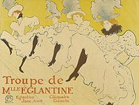 Lautrec la troupe de mlle eglantine (poster) 1895-6.jpg