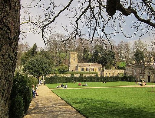 Lawn at Dyrham Park (geograph 3921611)
