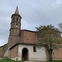 Le Castéra - Église Saint-Eutrope côté ouest.jpg