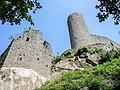 Le château d'Andlau, vu du fossé ouest.jpg