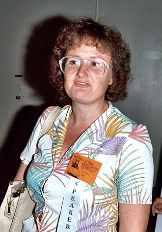 Lee Marrs - Marrs at the 1982 San Diego Comic Con (today called Comic-Con International).