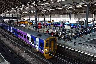 Leeds railway station Mainline railway station in Leeds, West Yorkshire, England