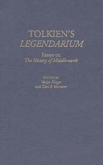 Tolkien's Legendarium - Book cover