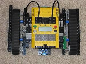 "A Lego Mindstorms model called ""the Rover..."