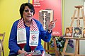 Leila Khaled in 2017 Barcelona's Literal Fair.jpg