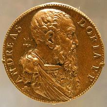 Leone Leoni, medaglia di Andrea Doria, 1541