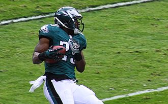 LeSean McCoy - McCoy during a 2013 victory over the Redskins
