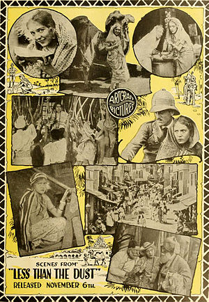 Adela Florence Nicolson - Advertisement for Pickford's film