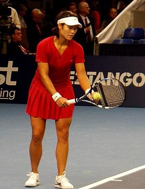 Li Na - Li Na at 2008 Fortis Championships Luxembourg