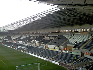 Liberty Stadium - Image: Liberty Stadium interior 1
