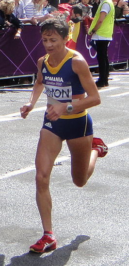 Lidia Simon (Romania) - London 2012 Women's Marathon (cropped).jpg