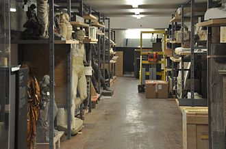Storage of cultural heritage objects - Liebieghaus Depot collection storage