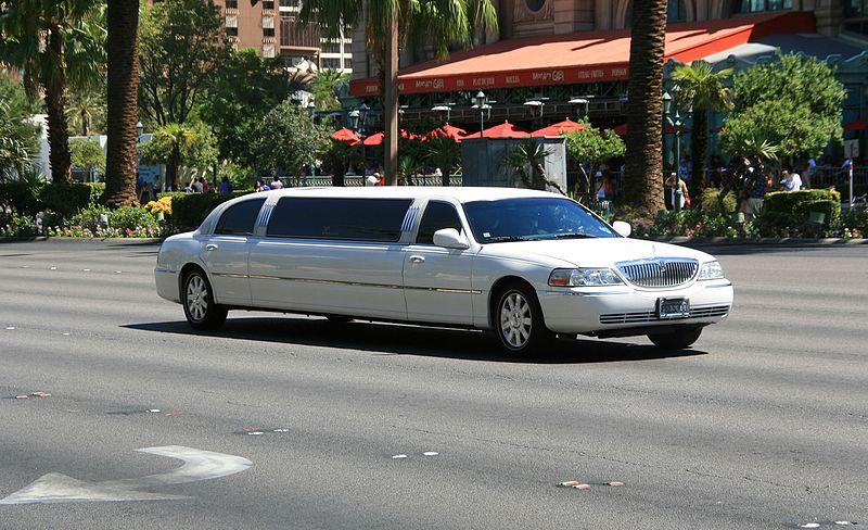 Limousine no aeroporto de Las Vegas