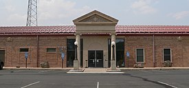 Lincoln County, Colorado courthouse main entrance 1.JPG