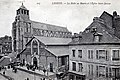 Lisieux halle au beurre et église Saint Jacques.jpg