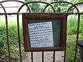 List of Summer services at Llanfair-yn-y-Cwmwd fixed to the church gate - geograph.org.uk - 850140.jpg